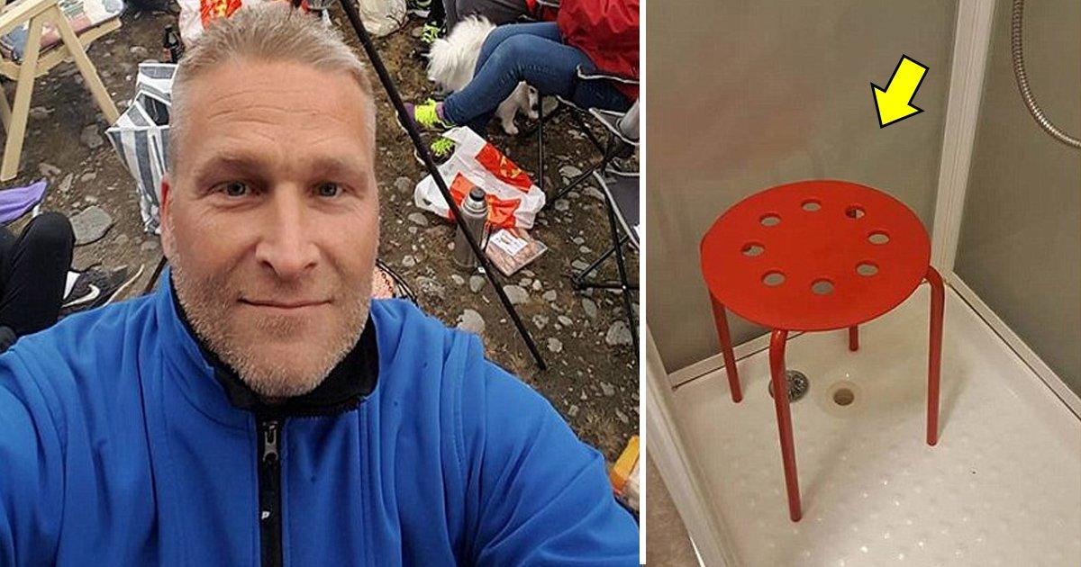 thahah.jpg?resize=1200,630 - Cet homme a vécu un cauchemar en coinçant ses testicules dans une chaise IKEA.