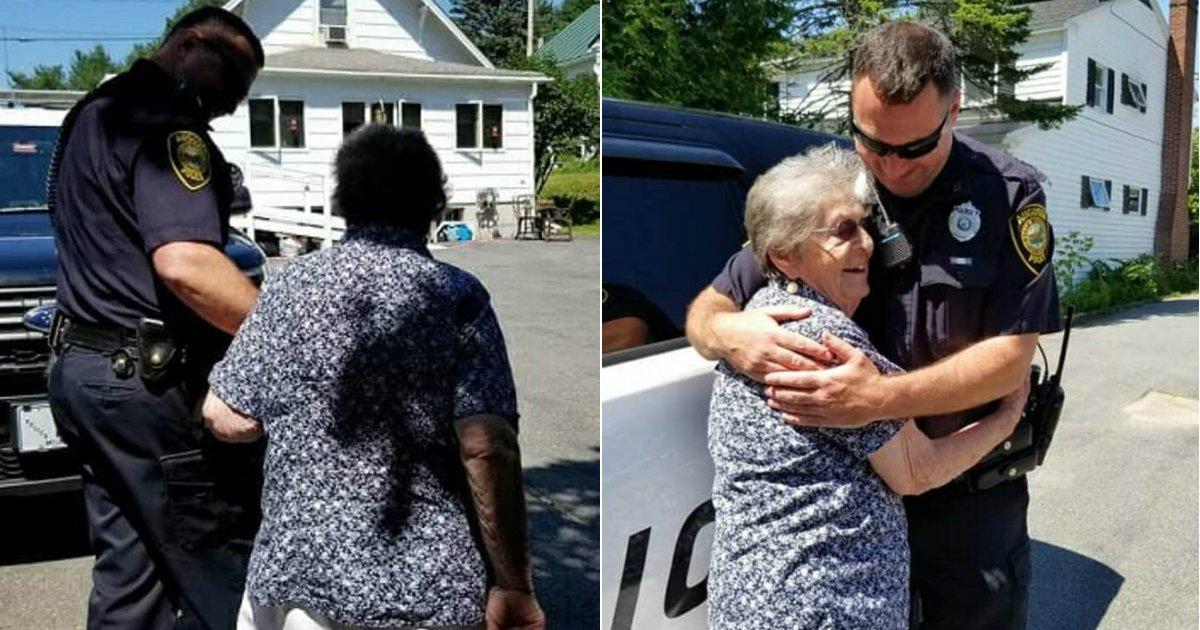 the reason 1.jpg?resize=412,232 - Une femme de 93 ans a été arrêtée le jour de son anniversaire, laissant tout le monde incrédule