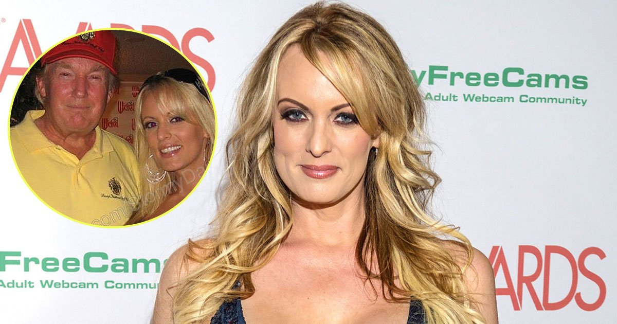 trump stormy daniels.jpg?resize=636,358 - Stormy Daniels Appears In Vogue's October Issue To Discuss Her Alleged Affair With President Donald Trump