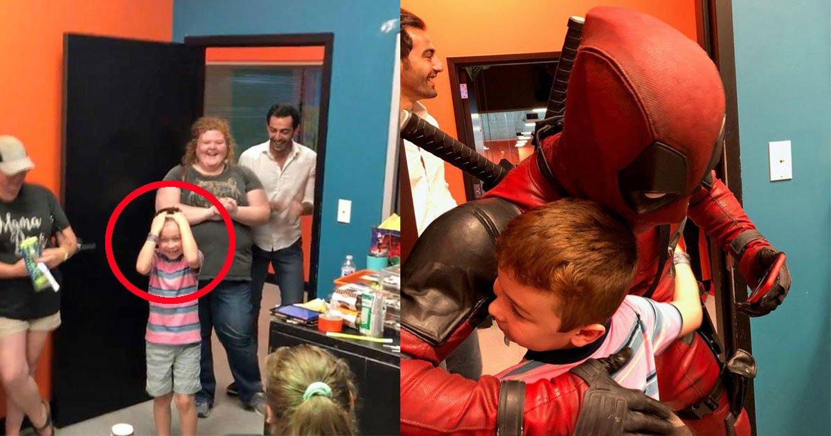 untitled 1 104.jpg?resize=636,358 - Un garçon a invité 30 amis mais un seul s'est présenté à sa fête d'anniversaire - Des super-héros bienveillants sont intervenus pour lui remonter le moral!