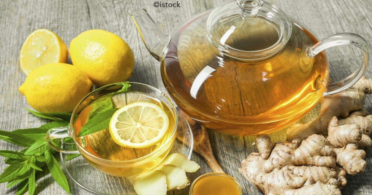 Jengibre con limon para adelgazar