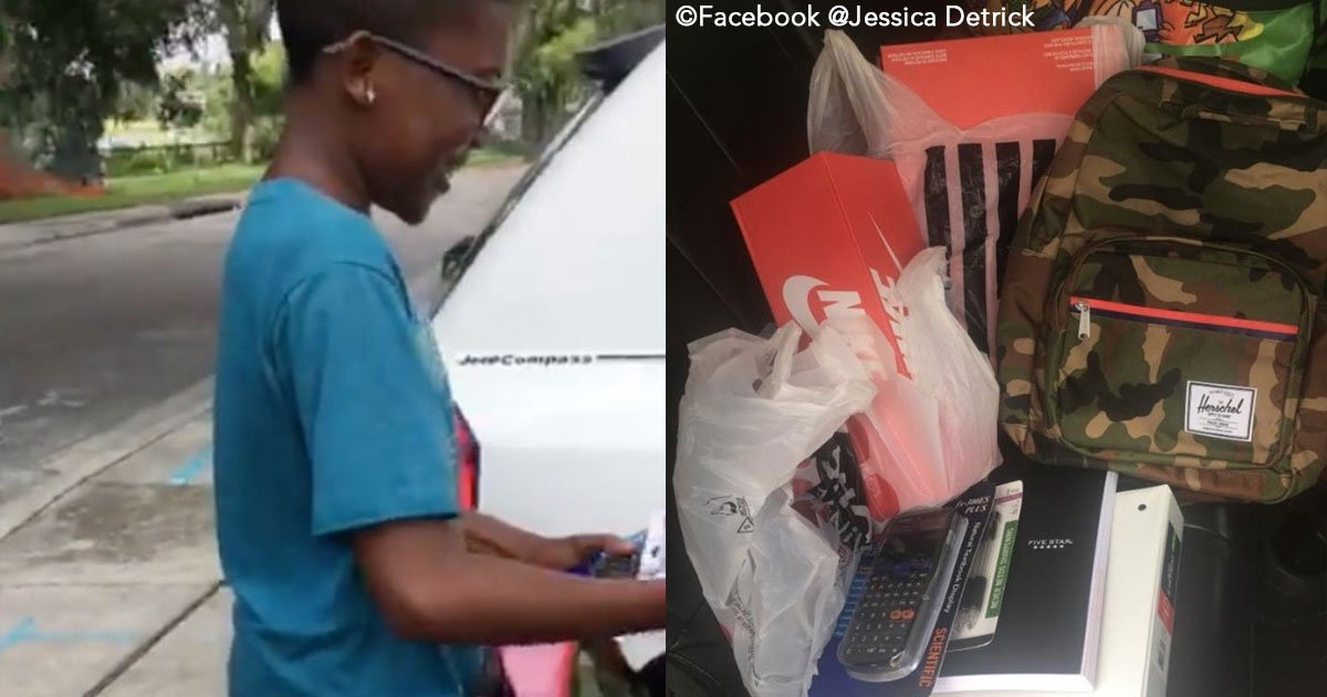 untitled 1 130.jpg?resize=636,358 - Quando ela viu uma criança lavando carros para comprar material escolar e roupas, esta mulher decidiu ajudá-la com 100 dólares