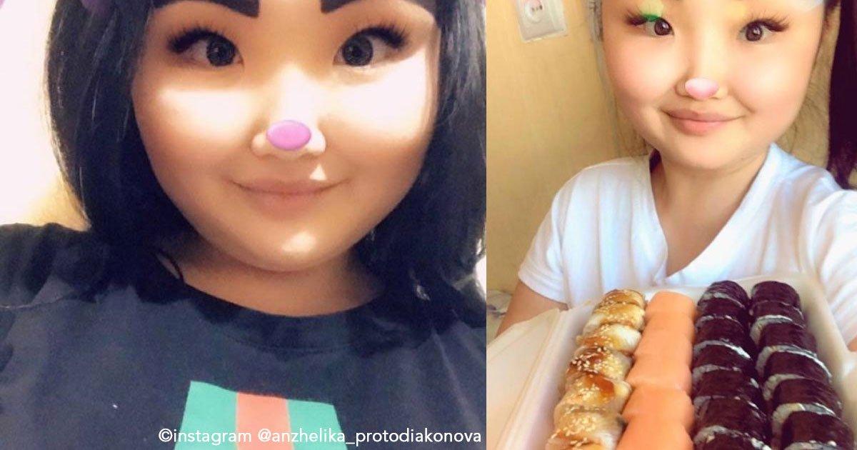 untitled 1 15.jpg?resize=1200,630 - Ela tem mais de 90 mil seguidores no Instagram por usar sobrancelhas enormes que quase cobrem o rosto