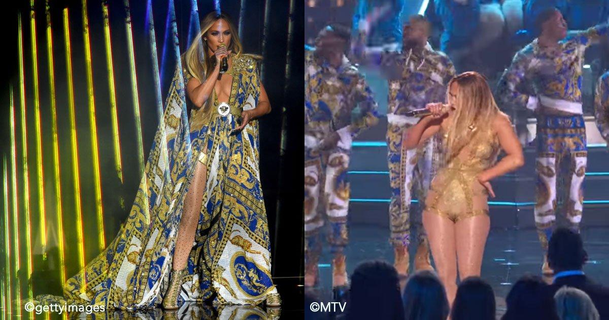 untitled 1 150.jpg?resize=300,169 - Jennifer Lopez deja a todos con la boca abierta en su presentación en los VMA, fue simplemente impactante