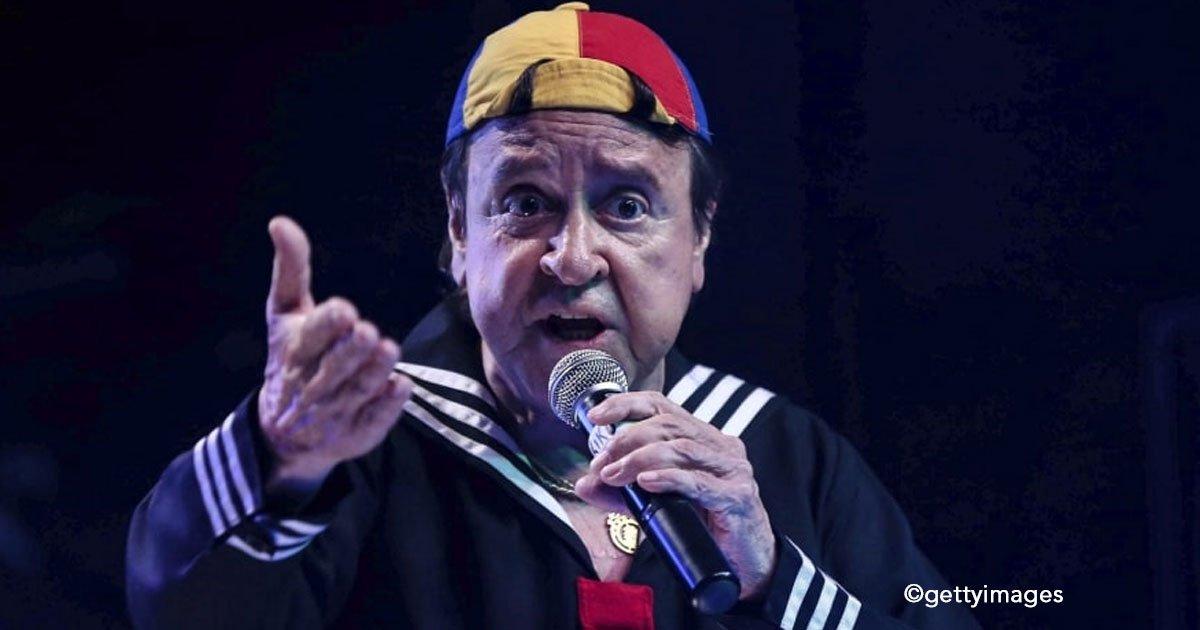 """untitled 1 16.jpg?resize=300,169 - Carlos Villagrán a sus 74 años, decide despedirse de su personaje """"Kiko"""" pues no quiere mostrarlo en decadencia"""