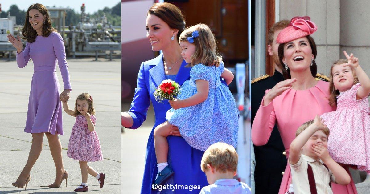 untitled 1 20.jpg?resize=648,365 - Kate Middleton y su hija Charlotte siempre visten coordinadas por una razón muy importante y seguro no sabías