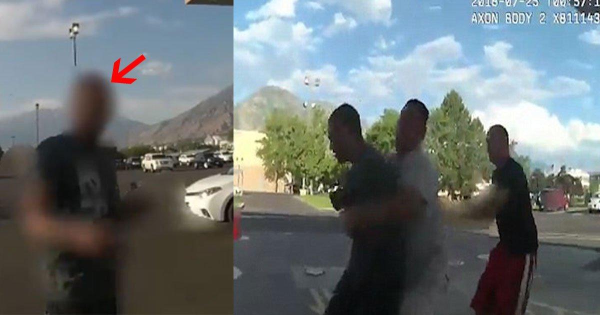 untitled 1 39.jpg?resize=300,169 - Un témoin est venu aider un policier alors qu'il se faisait attaquer par un homme