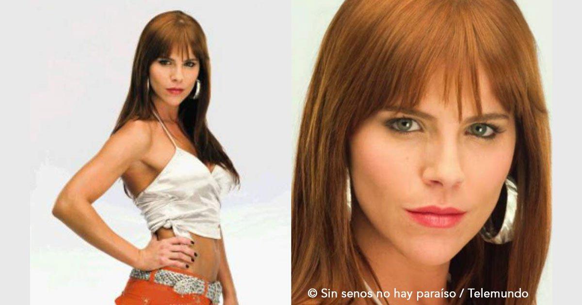 """untitled 1 4.jpg?resize=300,169 - La actriz que interpretó a """"La Diabla"""" de la serie """"Sin senos no hay paraíso"""" explica la razón por la que no continuó"""