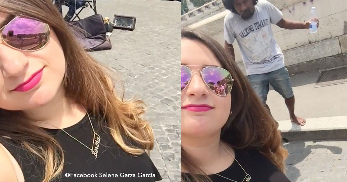 untitled 1 42.jpg?resize=300,169 - Deseaba tomar un video de su viaje a Roma pero algo sorpresivo arruinó el momento, el susto fue terrible