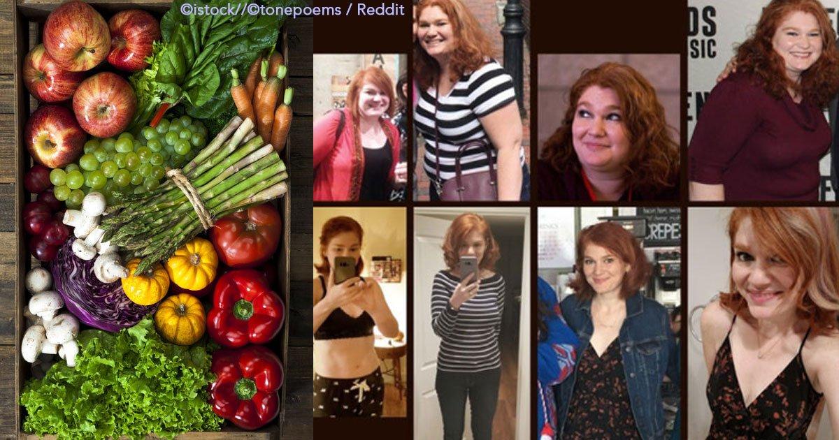 """untitled 1 63.jpg?resize=412,232 - """"La dieta paleo"""" fue el método que utilizó esta mujer de manera estricta bajando 30 kilos en un año"""
