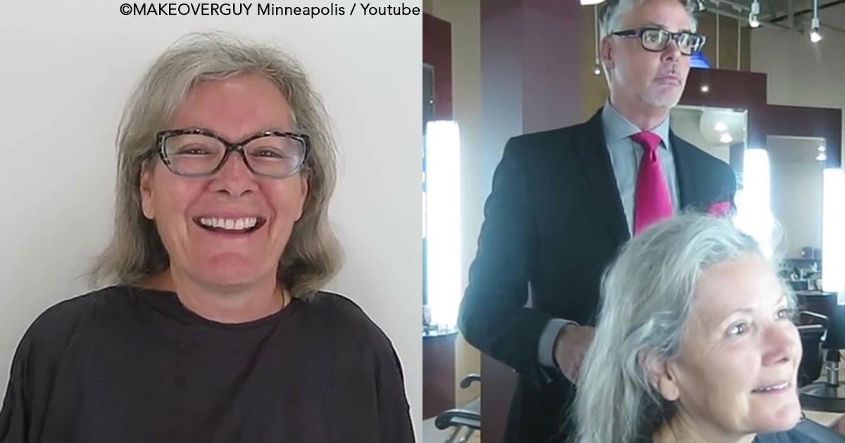 untitled 1 76.jpg?resize=300,169 - Para celebrar su cumpleaños 65, se hizo un cambio de look tan radical que la dejó con la boca abierta