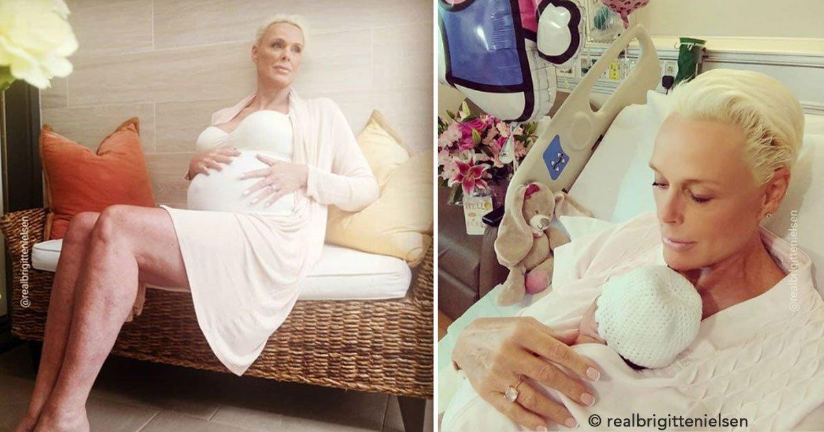 untitled 1 96.jpg?resize=300,169 - A sus 54 años Brigitte Nielsen se embaraza de su quinto bebé y luce una fabulosa figura después del parto