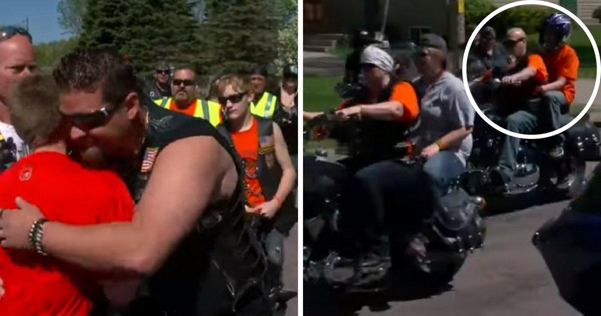 untitled design 25.png?resize=412,232 - Des dizaines de motards se mobilisent pour soutenir un garçon dont la vie a été un enfer par les brutes de l'école