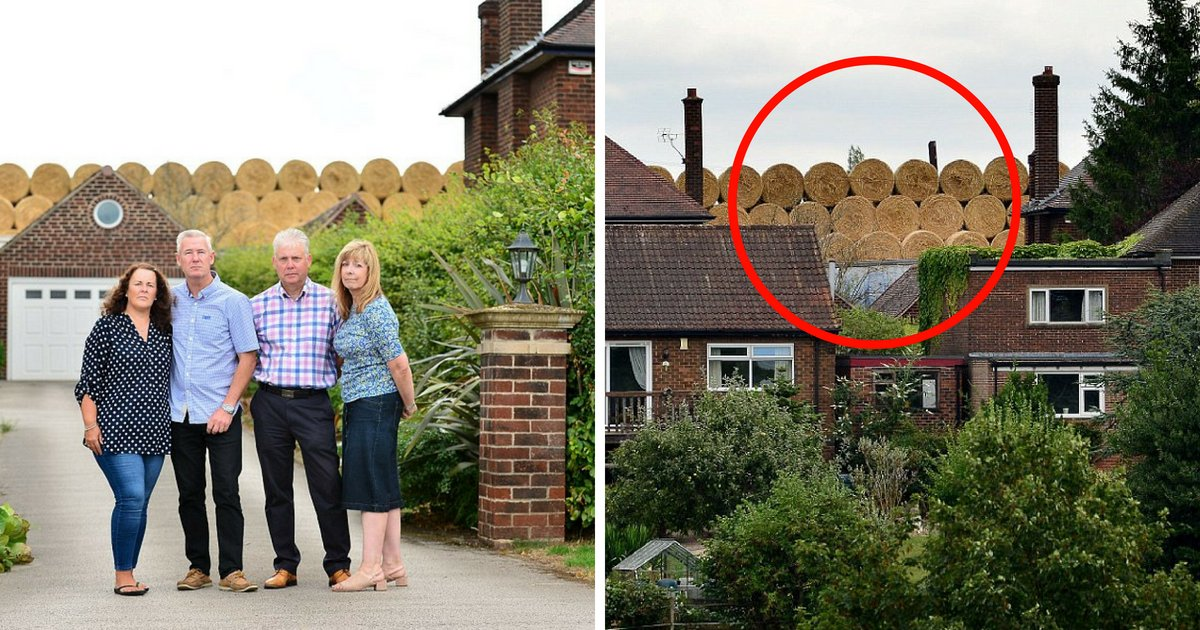 untitled design 7 1.png?resize=636,358 - Villagers From Rich Homes Angry At Farmer Who Built A Mountain Of Straw And Blocked Their View