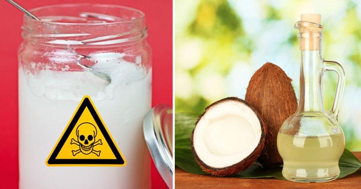 vaa.jpg?resize=636,358 - Especialistas em saúde afirmam que o óleo de coco não é saudável para consumo