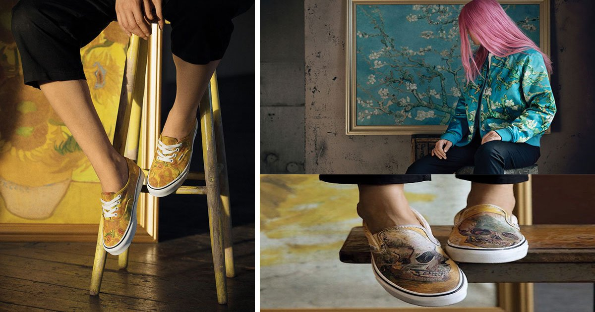 df3a9dda066 The Van Gogh Museum In Amsterdam Has Teamed Up With Skate Brand Vans-And We  Are Loving It