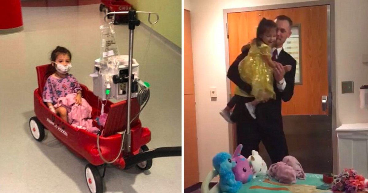 vbb.jpg?resize=1200,630 - This Father Surprised Her Two-year-old Daughter Fighting With Leukemia And The Moment Will Melt Your Heart