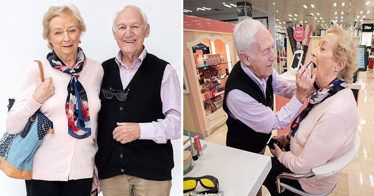 vgaa.jpg?resize=300,169 - Ce mari de 84 ans donne des objectifs de couple à tout le monde en apprenant le maquillage avant que sa femme ne perde la vue