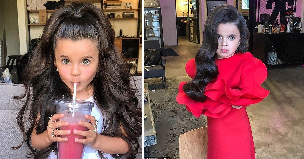 vgs.jpg?resize=1200,630 - Esta menina de 5 anos vai roubar seu coração com suas longas madeixas e sorriso alegre