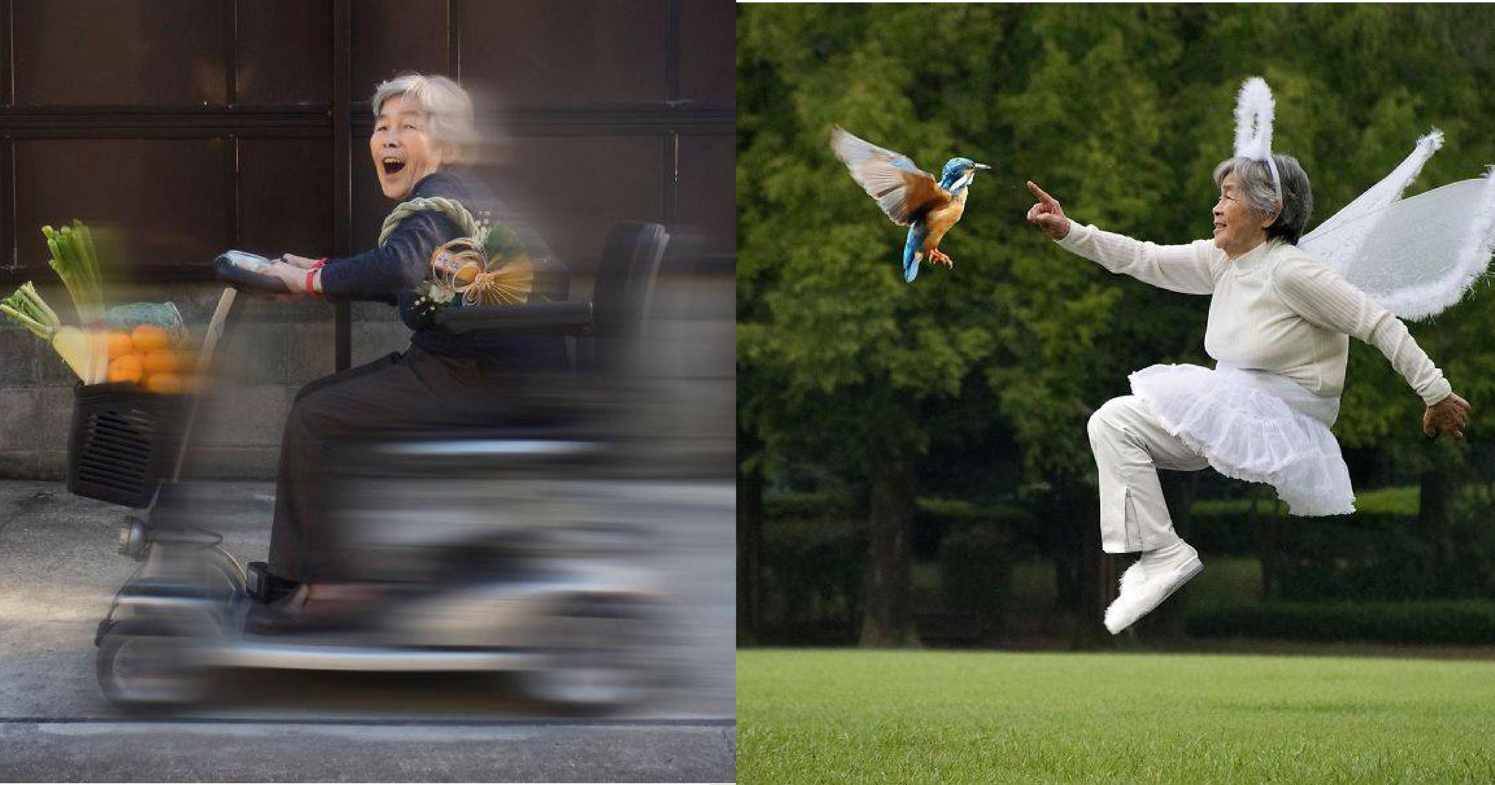 vonvone5b081e99da2 01 4.png?resize=648,365 - 最鬧自拍照又來了!89歲日本老奶奶化身自拍女王,愛上攝影就停不下來