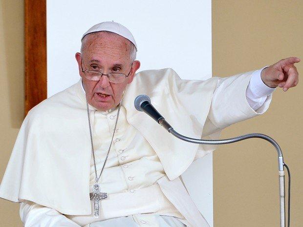 """000 par8207423.jpg?resize=636,358 - """"Quem fabrica armas ou investe na indústria armamentista não é cristão"""" diz o Papa Francisco"""