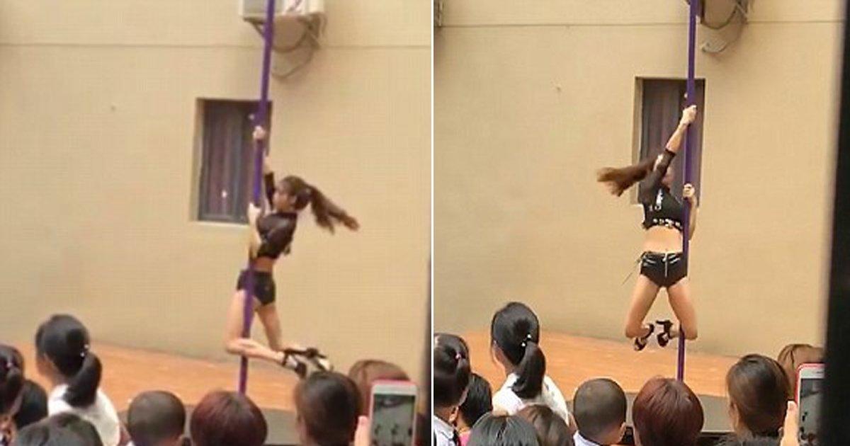 0904 thumb 5.jpg?resize=412,232 - 개원일에 어린 아이들 앞에서 '폴댄스' 공연한 중국 유치원 (영상)