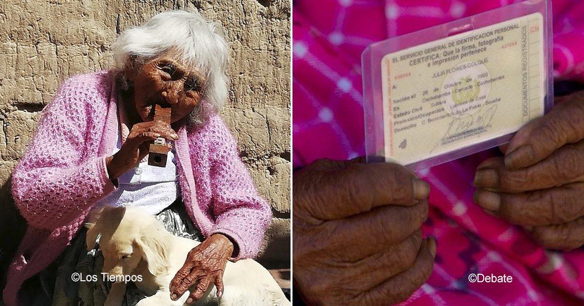 118.jpg?resize=300,169 - Julia Flores Colque cumple casi 118 años, está por convertirse en la mujer más longeva del mundo