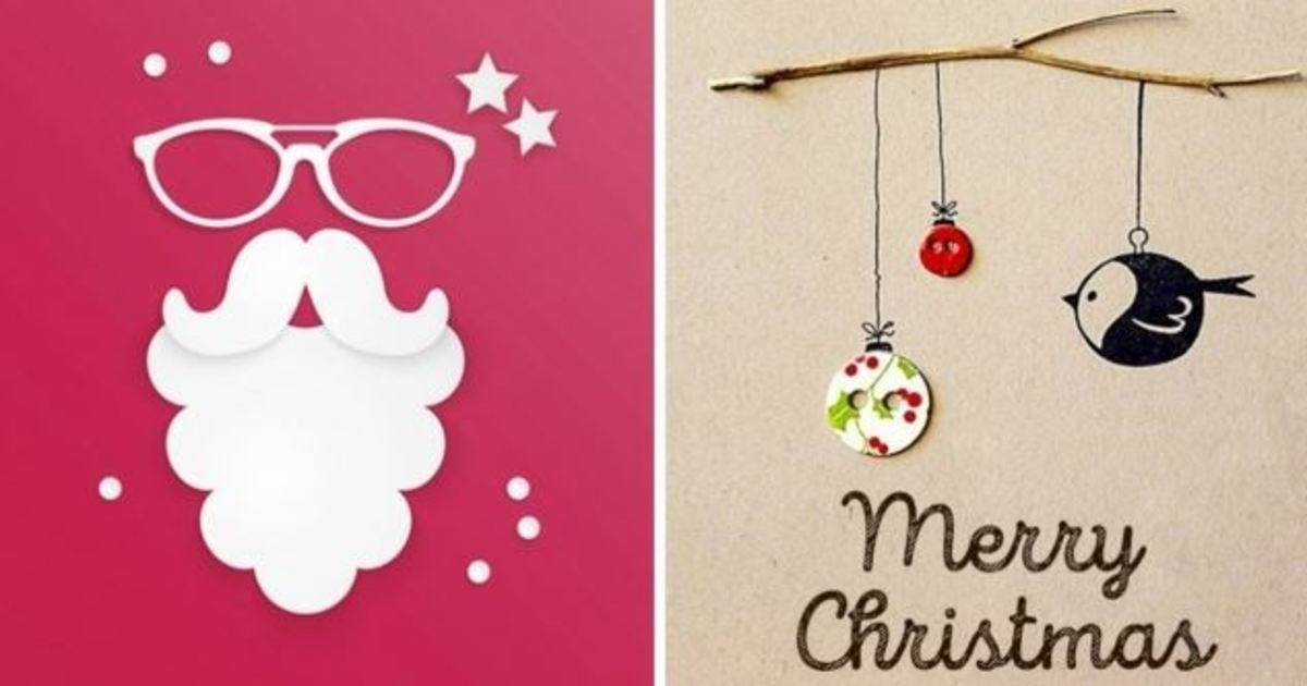 18 19.jpg?resize=1200,630 - 18 Wonderful Christmas Cards You Can Make In Just 30 Minutes