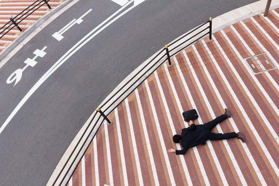 180903 218.jpg?resize=300,169 - 「不想上班...」另有正職的日本攝影師,自我紀錄拍下社畜痛苦的每一天
