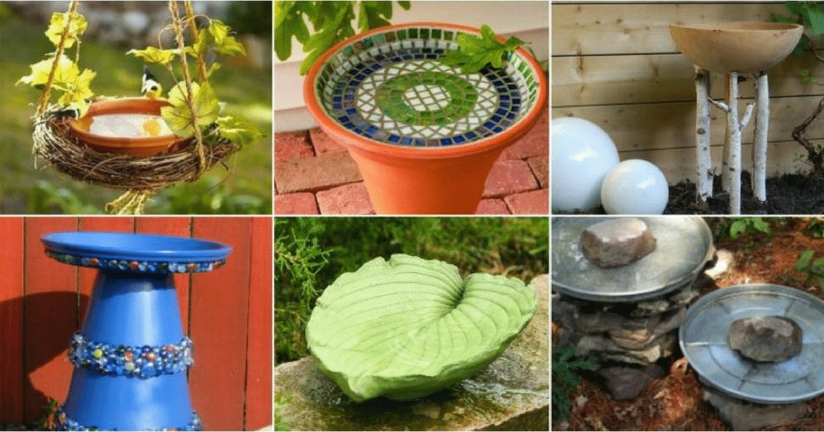 2 4.png?resize=1200,630 - 20 Adorable DIY Birdbath Ideas