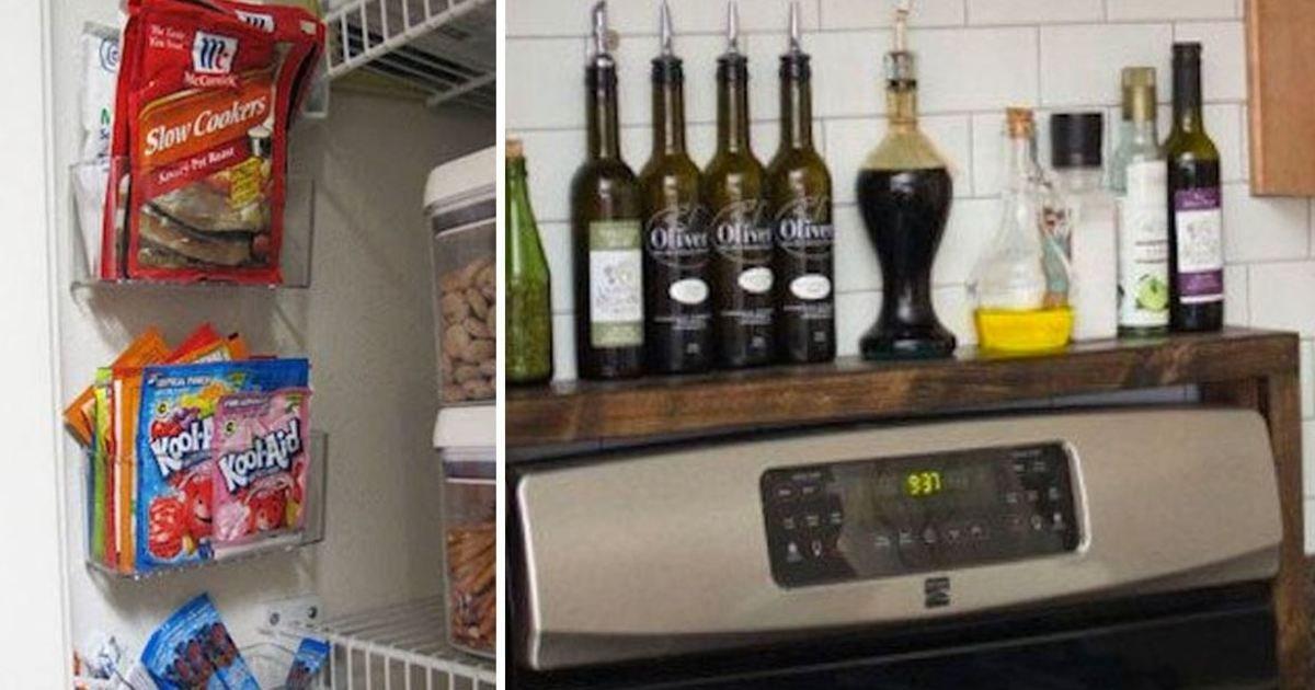 30 7.jpg?resize=1200,630 - 20 Easy Kitchen Organization Hacks