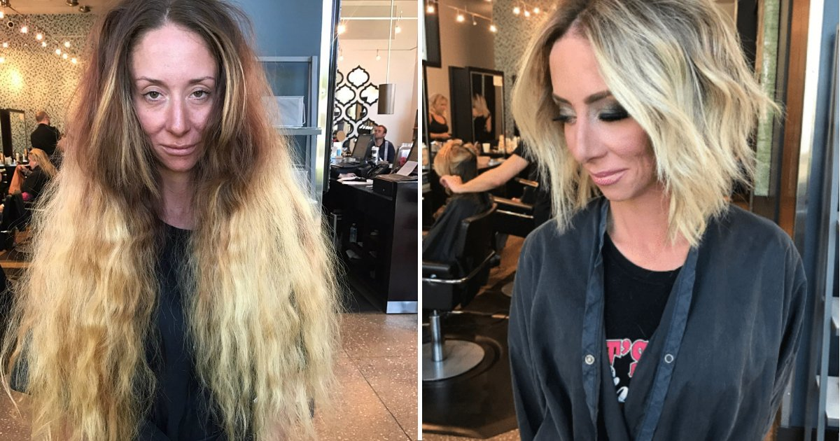 7 hour transformation.jpg?resize=636,358 - Woman Undergoes 7-Hour Transformation Before Wedding And Finally Feels Beautiful