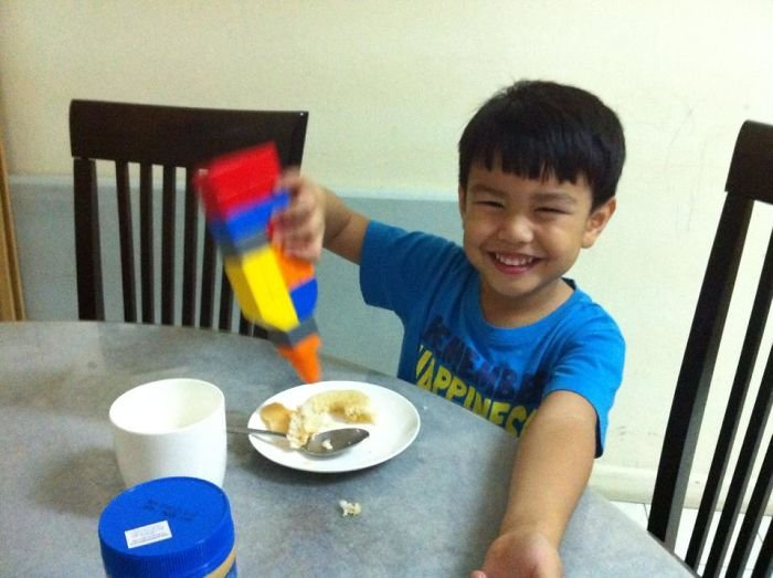 Lego Honey Container - Happiness For Breakfast
