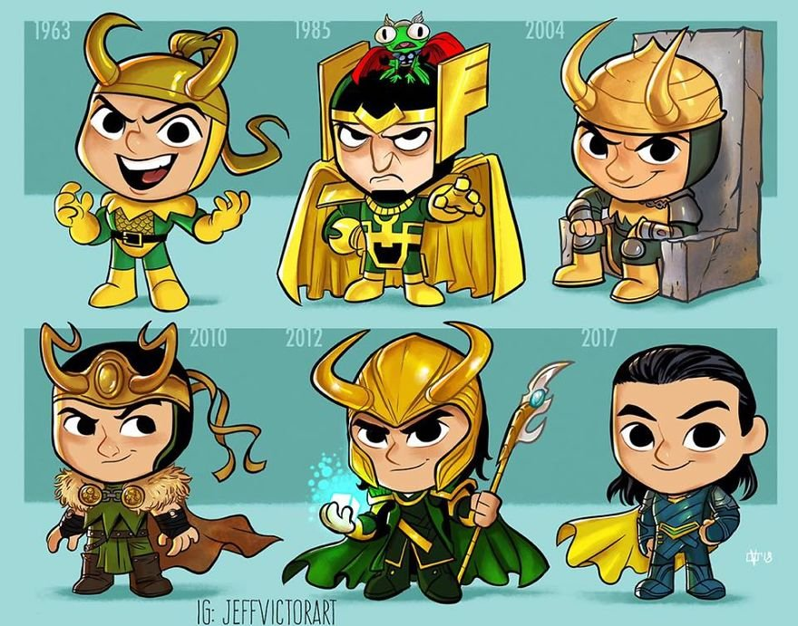 Deus do prejuízo ele mesmo: Loki