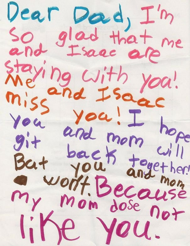 A Letter From My Daughter
