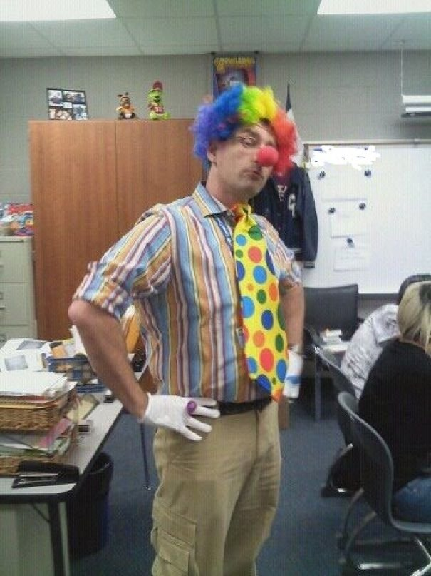 "This Is My Gay Teacher The Day After One Of His Students Said, ""I"