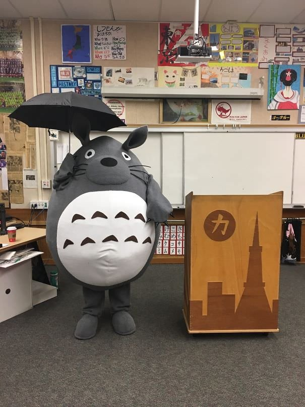 My Japanese Teacher Goes All Out Every Halloween