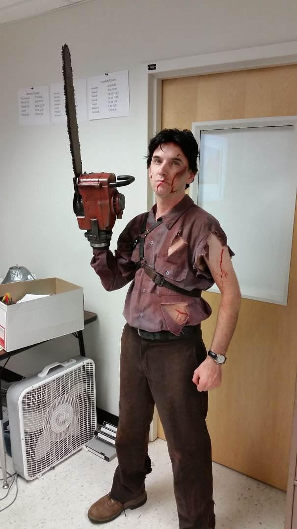 Each Year, My Engineering Teacher Makes Amazing Costumes By Hand. This Year Was No Exception