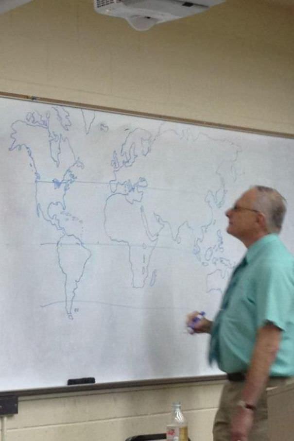 The Teacher Didn