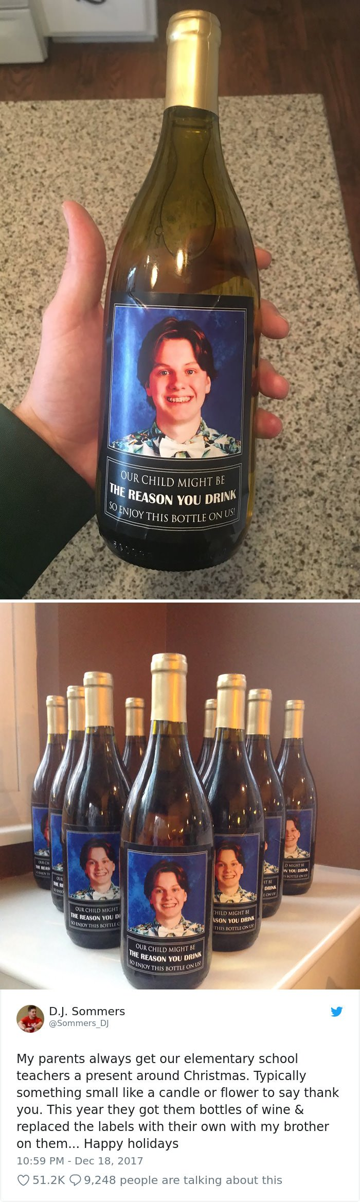 Our Child Might Be The Reason You Drink