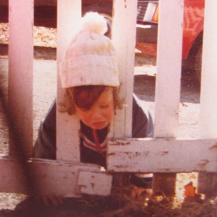 In 1980 I Got My Head Stuck In A Fence And Instead Of Helping Me My Parents Took This Photo