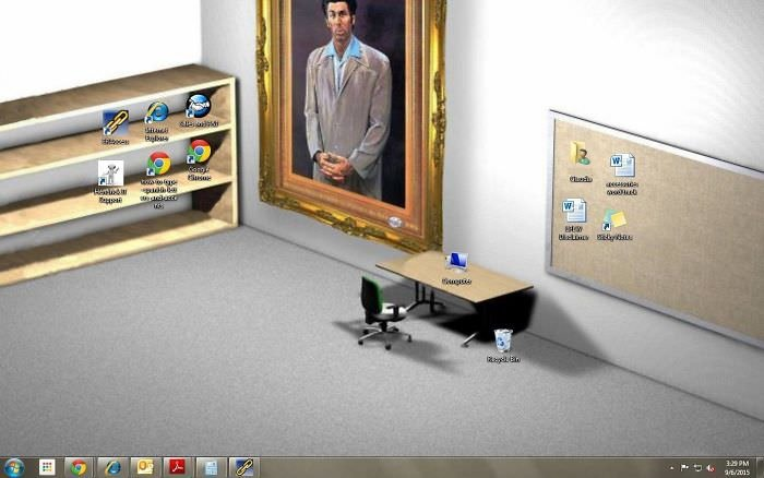 This Is My Co-Workers Desktop. Amazing