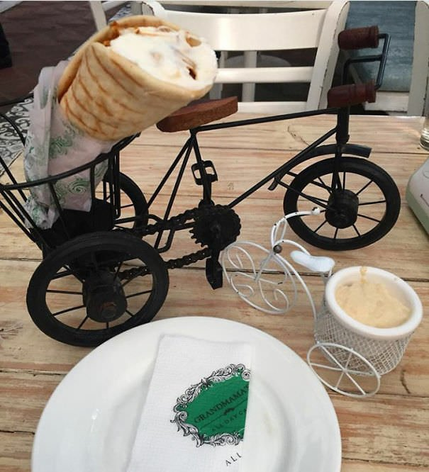Shawarma On A Bicycle