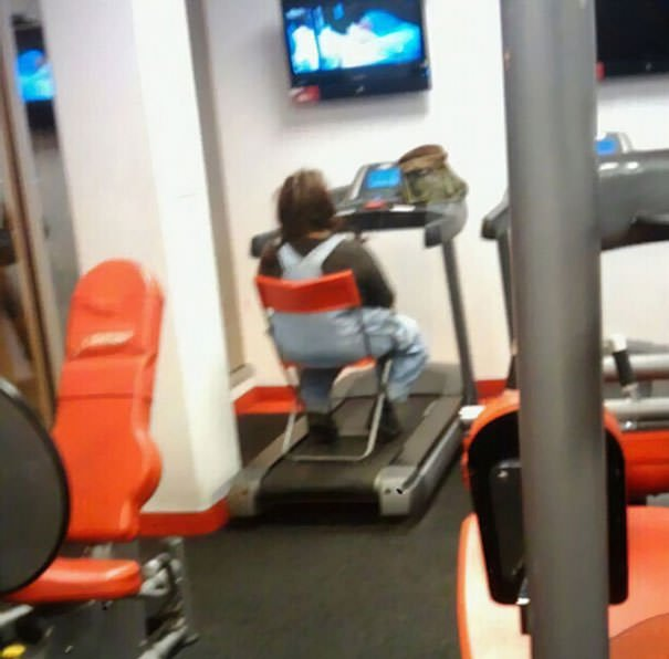 Because A Gym Membership Costs Less Than Cable