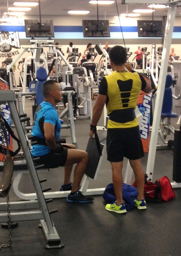 Scorpion And Sub-Zero Were At The Gym Yesterday