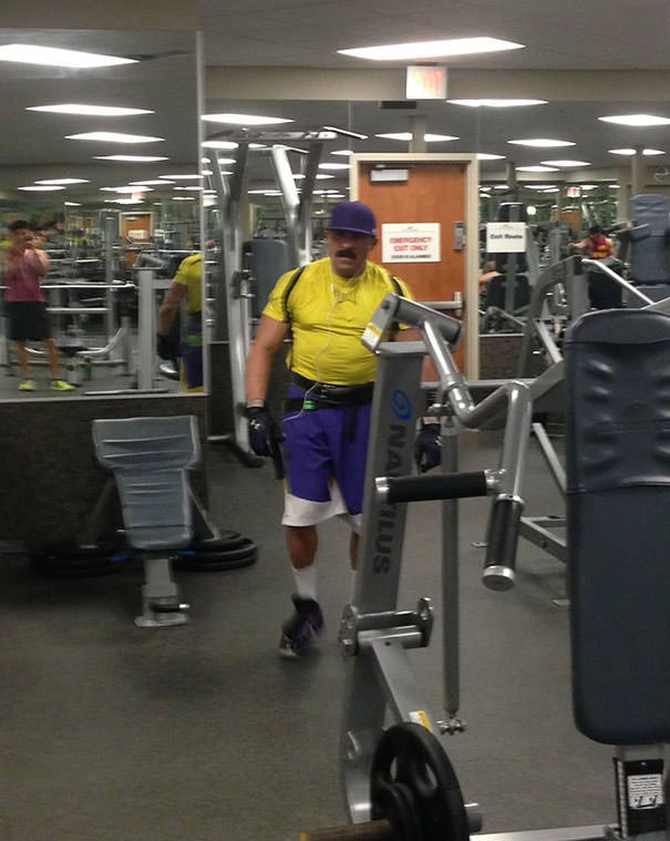 Found Wario At The Gym