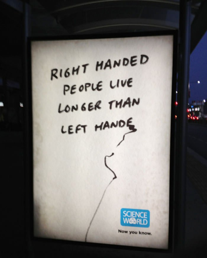 Funny left-handed people problems