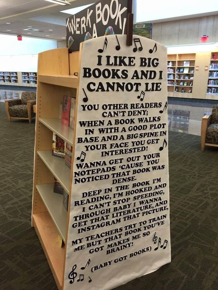 This Librarian Is Brilliant