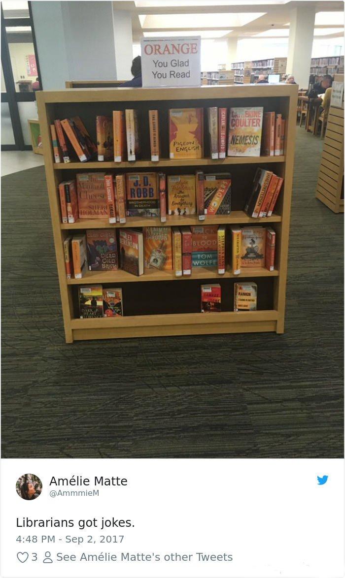 Funny Librarians Jokes
