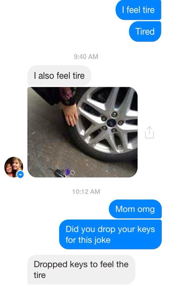Feel The Tire
